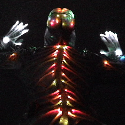 Illuminated Nervous System Costume by Janet Hansen