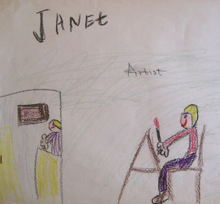 Janet wants to be an artist when she grows up